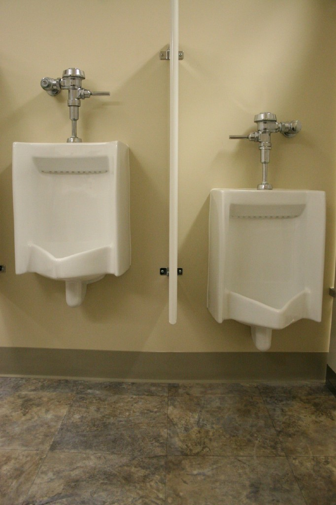 Coremark commerical employee bathrooms hardline design for Men in bathrooms
