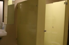 Yellow-Bathroom-Stall