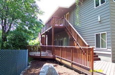 Ipe deck_ stairs_ and handrails
