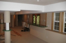 Hardline Design and Construction BEFORE Taylor Basement Original Space